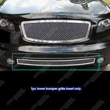 Fits 03-05 Infiniti FX35/ FX45 Bumper Stainless Mesh Grille