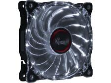 Rosewill RFA-80WL - 120mm CULLINAN Computer Case Cooling Fan with LP4 Adapter -