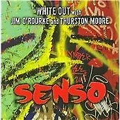 WHITE OUT - Senso CD.New,Sealed.Thurston Moore,Jim O'Rourke.Sonic Youth