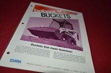 Bobcat Skid Loader Buckets Attachment Dealers Brochure DCPA2