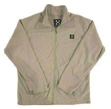 Haglofs Men's Midlayer Zip up Corduroy Jacket Fluffy Warm and Light Grey