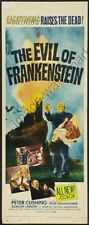 Evil Of Frankenstein The Movie Poster Insert #01 Replica