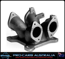 REDLINE 2 X 45 48 DCOE WEBER TO 4BBL HOLLEY CARBURETTOR CARBY HOLDEN FORD CHEV