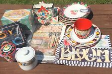 Me Ink Mary Engelbreit 21 Pc Kitchen Set / Lot New & Used