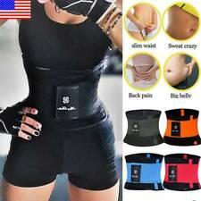 Waist Trainer Cincher Trimmer Belt Slim Body Shaper Sauna Sports GYM Shapewear