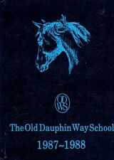 Old Dauphin Way School Mobile Alabama 1988 Yearbook Annual