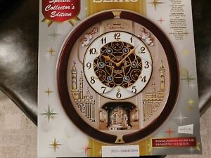 Seiko Melodies in Motion QXM491BRH Wall Clock
