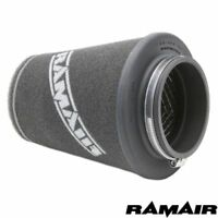 Ramair 70mm neck Twin Layer foam air filter universal cone hand made in the UK