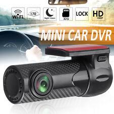 170° HD 1080P Mini Car DVR WIFI Dash Cam Night Vision Video Recorder G-sensor