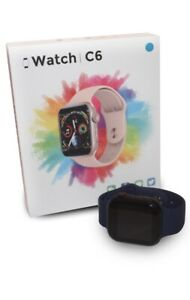 Smart Watch Model C6 Brand New Boxed Ios And Android Compatible 3 Colours!!!