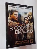 BLOOD DIAMOND - FILM IN DVD - 2 DISCHI -CON SLIPCASE -visita COMPRO FUMETTI SHOP