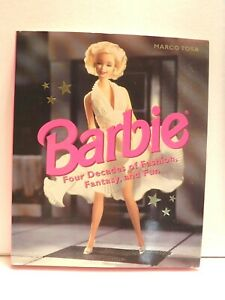 BARBIE-FOUR DECADES OF FASHION, FANTASY...MARCO TOSA  -1998 -VERY GOOD CONDITION