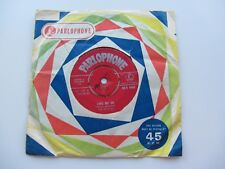 THE BEATLES  1962    LOVE ME DO RED    PARLOPHONE    Z  T TAX CODE  1 L   1 GG