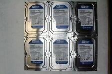 "Lot of 6  Western Digital WD Blue 500GB 7200rpm 3.5"" HDD  WD5000AAKX"