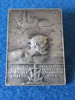 Vintage Swiss Medal / Badge - Binnen und Wasser Basel 1926
