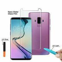 For Samsung Galaxy S10 Plus UV Full Glue Gorilla Curved Liquid Tempered Glass
