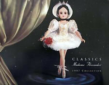 NEW 1997 Madame Alexander Full Doll Line Collection Color CATALOG