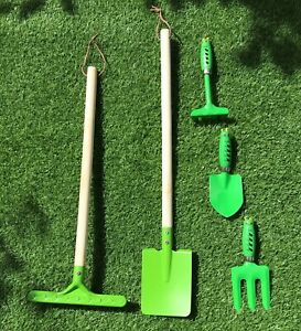 Kids Childrens Gardening Starter Set, Metal Tools BRAND NEW Junior UK