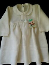 Vintage 70's baby dress Soft White Original, Genuine,  New with tags -  Size 2