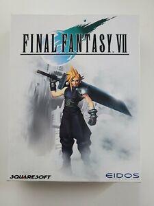 Final Fantasy VII 7 | 1997 | Eidos Squaresoft | PC CD ROM | Big Box
