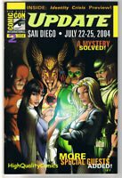 SDCC UPDATE #2 for 2004, NM, Michael Turner, Justice League, San Diego Comic Con