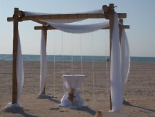 Beach Wedding Bamboo Arch Chuppah