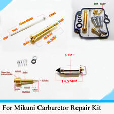 For Motorcycle Carbretor Repair Kit with Jet needle (J.N.) & Needle jet (N.J.)