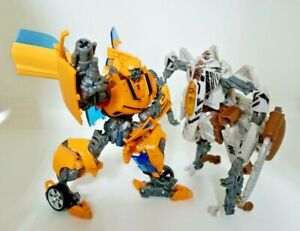Bumblebee & Star Scream Transformer Figures  Hasbro 2008