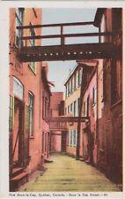 Canada Postcard:  Rue Sous-le-Cap, Quebec, QC - Publisher PECO, Toronto - pc34