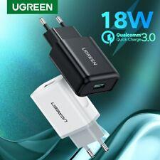 Ugreen USB Cargador carga rápida 3.0 Adaptador Cargador De Pared Usb rápidas para iPhone LG