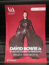 DAVID BOWIE is PROMOTIONAL FLYER BARCELONA 2017 ENGLISH (LARGE)