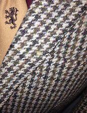 Vintage Mens HARRIS TWEED Check Suit Jacket Blazer Keepers 38 R