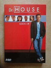 4991 // DOCTEUR DR HOUSE  SAISON 3 COFFRET 6 DVD NEUF SOUS BLISTER