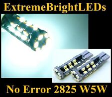 TWO Xenon HID WHITE 30-SMD Canbus Error Free LED Parking Lights #84B