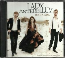 LADY ANTEBELLUM Just a Kiss PROMO Radio DJ CD single 2011 w/ PRINTED LYRICS MINT