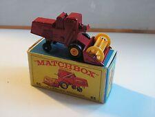 MATCHBOX N°65 CLAAS COMBINE  HARVESTER MIB  NEUF BOITE