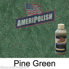 1 GL. Pine Green CONCRETE COLOR DYE 4 CEMENT, STAIN AMERIPOLISH Solvent based