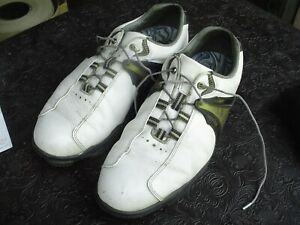 Footjoy Dryjoys Men's Size 10 1/2 M Soft Spike E.C.L. Leather Golf Shoes