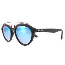 Ray-Ban Gafas de sol nuevas gatsby 4257 6252b7 Negro Azul degradado ESPEJO 53mm