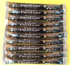 Lot of 8  Blue Cyalume Tactical Light Sticks Emergency Survival Prepper EX 0517