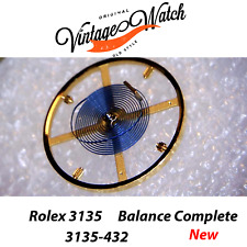 NEW Rolex 3135 432 BALANCE COMPLETE Bilanciere Rolex 3130 3155 3156 3175 3185