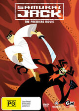 SAMURAI JACK - THE PREMIERE MOVIE -  DVD - REGION 4 - Sealed