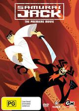 SAMURAI JACK - THE PREMIERE MOVIE -  DVD - REGION 4 - Sealed
