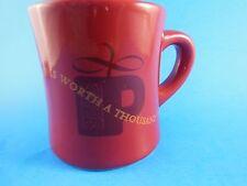 Peet's Coffee A cup is worth a 1000 words  Mug Tea Latte BIA