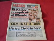 DIARIO MARCA FINAL MUNDIAL DE FÚTBOL ITALIA 1990 90 ALEMANIA CAMPEÓN FOOTBALL VE