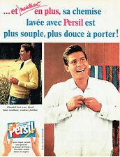 Publicité Advertising 107  1960  Persil lessive  pour chandail chemise