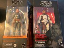 COMBO SET Star Wars Black Series Obi Wan & Bo-Katan