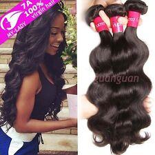 3 Bundles Brazilian Virgin Remy Human hair Body Wave Weave Extensions 300g T498