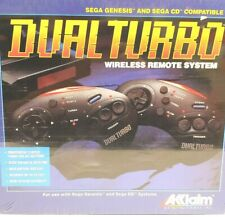 Acclaim Dual Turbo Wireless Remote System Sega Genesis & Sega CD Compatible NEW
