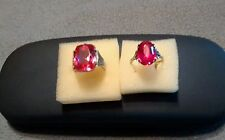 Vintage Antique Russian Rings 875 Costune Jewelry Fully Marked, Beautiful